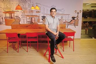A file photo of Ronnie Screwvala, who along with his wife Zarina Screwvala, founded SHARE in 1986 with the aim of empowering rural India. In 2012, the organization was renamed Swades Foundation. Photo: Abhijit Bhatlekar/Mint