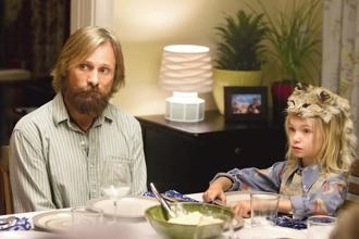 Viggo Mortensen and Shree Crooks in 'Captain Fantastic'.