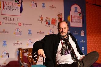 William Dalrymple at the Jaipur Literature Festival 2017. Photo: Priyanka Parashar/Mint