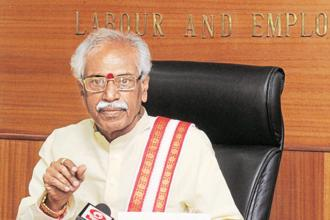Labour minister Bandaru Dattatreya also said that the Union government has decided to open 100 driver training institutes across the country and one of them will be setup in Hyderabad. Photo: PIB