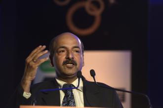 At the Mint Banking Conclave on Monday, RBI deputy governor N.S. Vishwanathan says the regulator had already put in place measures to derisk banks balance sheets. Photo: Abhijit Bhatlekar/Mint