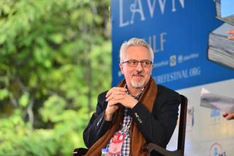 Alan Hollinghurst at the Jaipur Literature Festival. Photo: PriyankaParashar/ Mint