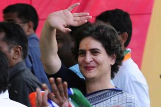 BJP leader Vinay Katiyar's remarks on Priyanka Gandhi sparked off a controversy. Photo: HT
