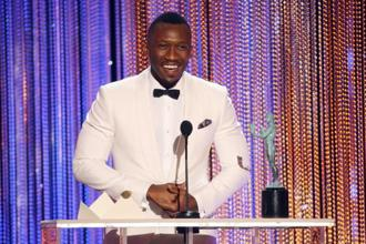 At SAG Awards, the most moving speech perhaps was by Mahershala Ali, who won best supporting actor for his acclaimed performance in Moonlight. Photo: Reuters