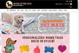 Owned and operated by Precious Pet Services Pvt. Ltd., Heads Up For Tails was founded in 2008.