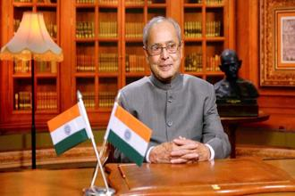 President Pranab Mukherjee's address to the joint session of both Houses of Parliament sets the tone for the upcoming budget session that begins on Tuesday. Photo: PTI