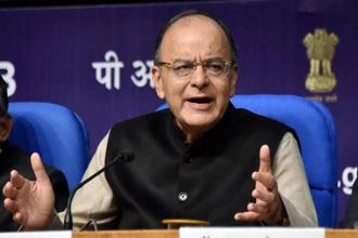 Finance minister Arun Jaitley confronted the daunting challenge of aiding a recovery in new investments, growth and employment, without compromising macroeconomic stability. Photo: PTI