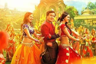 'Kung Fu Yoga' starring Jackie Chan, is an Indo-Chinese co-production with a few crazy action scenes and two passing references to yoga.