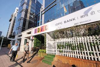 IDFC Bank has already bought into Grama Vidiyal Microfinance, Suryoday Small Finance Bank Ltd and ASA International India Microfinance Pvt. Ltd. Photo: Aniruddha Chowdhury/Mint