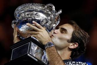 In the recently concluded Australian Open, a big factor in Roger Federer's fairy-tale victory over Rafael Nadal was the quality of his serving—aces that were random and unpredictable. Photo: AP