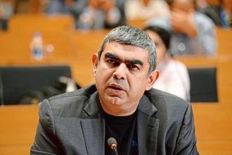 Infosys chief executive officer Vishal Sikka. Photo: Hemant Mishra/ Mint