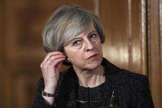 British Prime Minister Theresa May. Photo: AFP