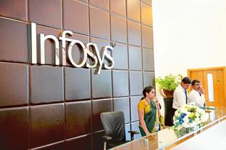Infosys COO Pravin Rao said arriving at the annual target is a complex exercise and the Nasscom has to collate a lot of data before arriving at a number for revenue growth. Photo: Hemant Mishra/Mint
