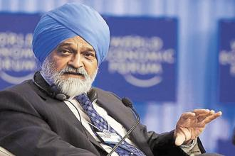 Montek Singh Bats For Single Unified Rate For Gst Print