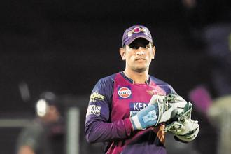 The newly-formed Rising Pune Supergiants won just from its 14 games under MS Dhoni as captain. Photo: AFP