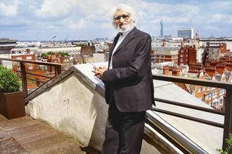Maqbool Fida Husain died in June 2011 in London at the age of 95. Photo: HT