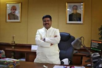 Oil minister Dharmendra Pradhan has offered investments by Indian public sector oil and gas companies in Myanmar's hydrocarbon sector. Photo: Reuters
