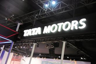 Tata Motors shares were trading 0.20% lower at Rs459.25 on the BSE. Photo: Ramesh Pathania/Mint