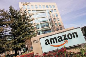 Amazon Web Services (AWS) is the world's biggest cloud computing business. Photo: Kristoffer Tripplaar/Alamy