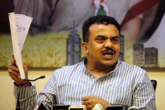 Soon after the BMC polls results came out, Mumbai Congress president Sanjay Nirupam said he had sent his resignation to the All India Congress Committee 'owning up the moral responsibility of the loss'. File photo: HT