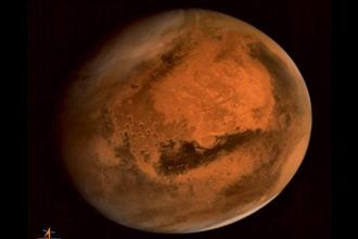 About 4.2 billion years ago, the magnetic field of Mars suddenly disappeared, which caused the red planet's atmosphere to slowly be lost to space, researchers said. Photo: PTI