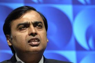 In the list of top 10 richest people Mukesh Ambani is followed by the SP Hinduja and family, at the second position. Photo: HT
