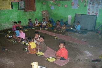 Under ICDS, supplementary nutrition is provided through take home ration to children aged between 6 and 36 months, pregnant women and lactating mothers. Children 3-6 years are provided hot cooked meals at the Anganwadi centres. File photo: Mint