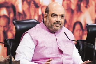 BJP president Amit Shah knew the minorities wouldn't vote for his party. Therefore, not even a single Muslim was given a ticket in Uttar Pradesh elections. Photo: Ramesh Pathania/Mint