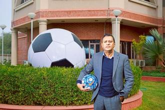 All India Football Federation general secretary Kushal Das says an event like the U-17 World Cup would give India an opportunity to test its grass-roots development programme. Photo: Pradeep Gaur/Mint