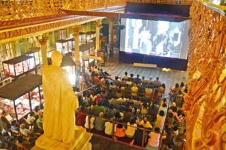 The first screening of Movies at the Museum was held inside the main building of the Dr. Bhau Daji Lad Museum in Byculla.