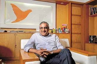 A file photo of Future group CEO Kishore Biyani. Photo: Abhijit Bhatlekar/Mint