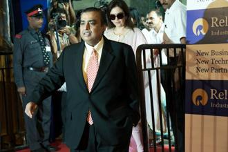 Mukesh Ambani, 59, leads the pack of Indian billionaires, coming in at the 33rd position with a net worth of $23.2 billion. Photo: Hindustan Times