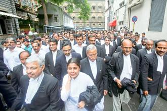 The amendments defined misconduct by an advocate to include the grounds which could lead to disqualification from the state rolls. Photo: Hindustan Times