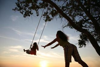"Of course some experts have argued that ""playing"" with one's children is a Western construct, but it's a different world from the one in which one grew up where same-age children were easily accessible after school hours. Photo: iStockphoto"