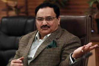 Health minister J.P. Nadda. The Mental Healthcare BIll was passed by the Rajya Sabha last year. The bill clearly defines mental illness and mental healthcare. Photo: Reuters