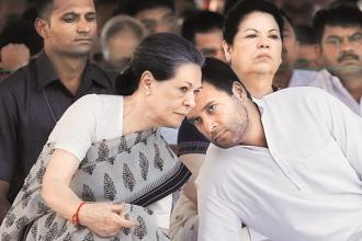 A file photo of Congress president Sonia Gandhi and vice president Rahul Gandhi. Photo: Reuters
