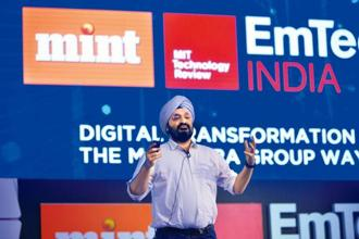 Jaspreet Bindra, senior vice-president, digital transformation, Mahindra Group. Photo: Pradeep Gaur/Mint