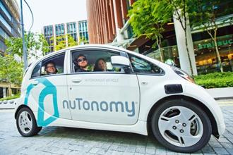 Autonomous vehicle software start-up nuTonomy has been testing self-driving taxis in Singapore. Photo: Bloomberg