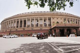 The goods and services tax (GST) legislation was tabled in Parliament on Monday. Photo: Vipin Kumar/HT