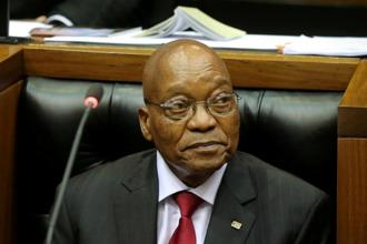 South Africa's president Jacob Zuma made several other changes in his cabinet, affecting ministries such as energy, police, tourism and others. Photo: Reuters
