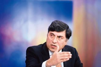 Rakesh Kapoor will be paid £14 million for 2016, down from £23 million in 2015. Photo: Bloomberg