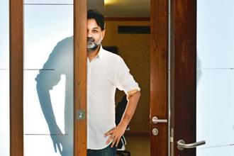 Srijit Mukherji at the Vishesh Films office in Mumbai. Photo: Aniruddha Chowdhury/Mint.
