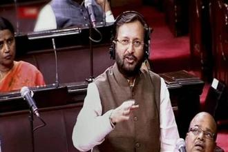 The rankings of India's top colleges and universities was announced by HRD minister Prakash Javadekar in New Delhi. Photo: PTI