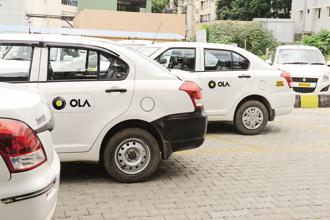 Bhavish Aggarwal, CEO ANI Technologoies, said Ola is working towards building a sustainable business model that balances all prices for both drivers and rides. Photo: Hemant Mishra/Mint
