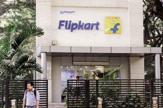 In the biggest round of funding by an Indian internet company till date, Flipkart on 10 April raised $1.4 billion from blue-chip technology companies Microsoft, eBay and Tencent. Photo: Hemant Mishra/Mint
