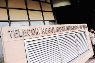 Telecom Regulatory Authority of India . Photo: Pradeep Gaur/Mint