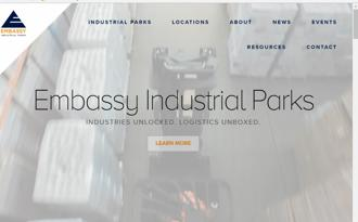Last year, Embassy Industrial Parks signed an MoU with the Haryana government to build three industrial parks in the state, investing Rs1,910 crore.