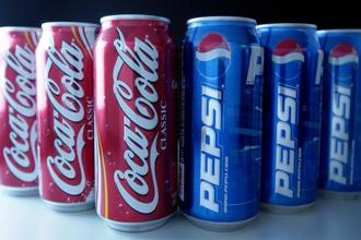 Atlanta-based Coca-Cola and Purchase and New York-based PepsiCo have expanded their portfolios of beverages and diversified pack sizes of carbonated drinks to appeal to increasingly health-conscious consumers. Photo: Daniel Acker/Bloomberg
