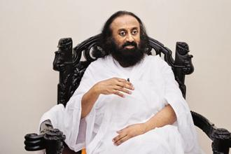 Sri Sri Ravi Shankar blamed the government and the NGT for permitting Art of Living to hold the festival on the Yamuna river bed and said they should be held responsible if any environmental damage was caused. Photo: Mint