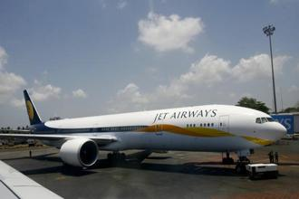 In January, a Jet Airways plane's tail had touched the runway during landing at Dhaka airport. Photo: Sajjad Hussain/AFP